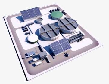 Wastewater Treatment Plant Png.