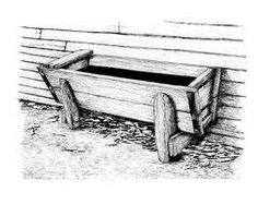 Clipart Water Trough.