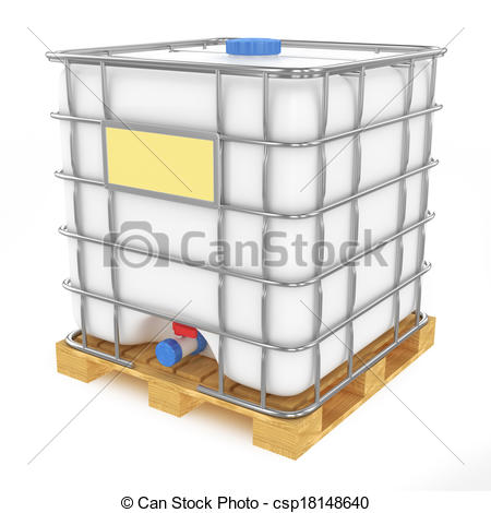 Clipart Of Water Cistern.
