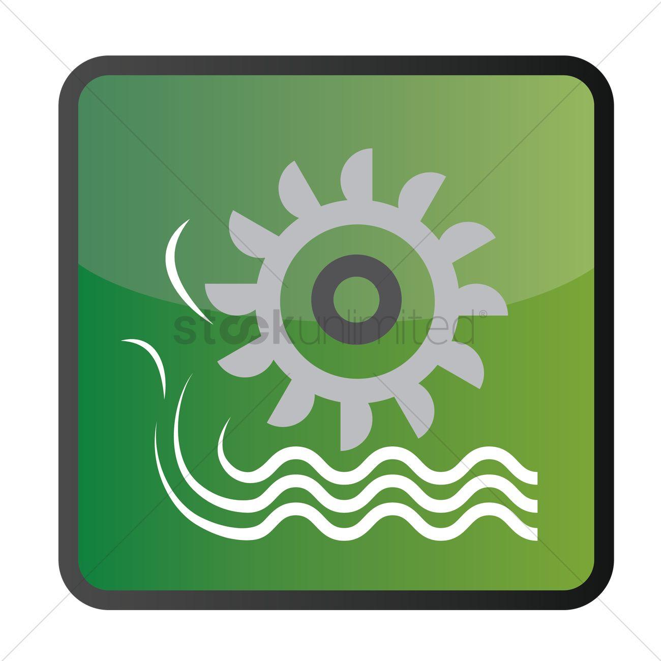 Water Turbine Turbines Rotate Energy Electric Free Vector Graphics.