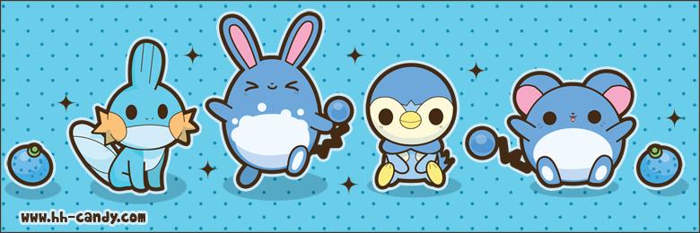 Cute Water Type Pokemon by *A.
