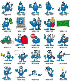 Usage Of Water Clipart.