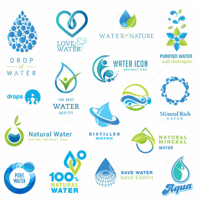 Water company clipart.