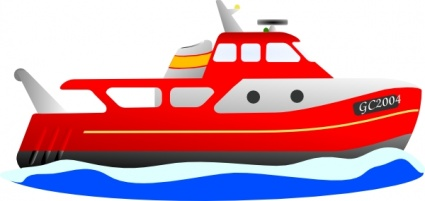 Water vehicles clipart.