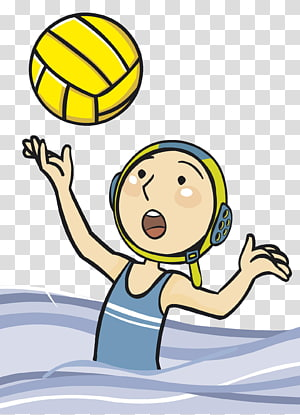 Water Volleyball transparent background PNG cliparts free.