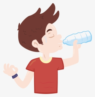 Free Drink Water Clip Art with No Background.