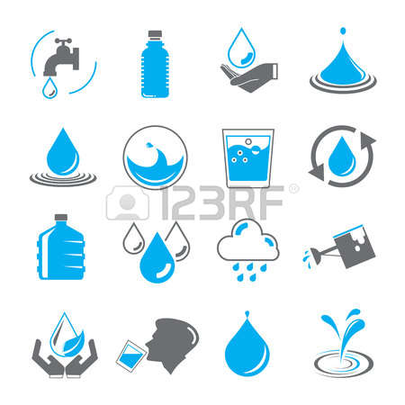 57,965 Drinking Water Stock Vector Illustration And Royalty Free.