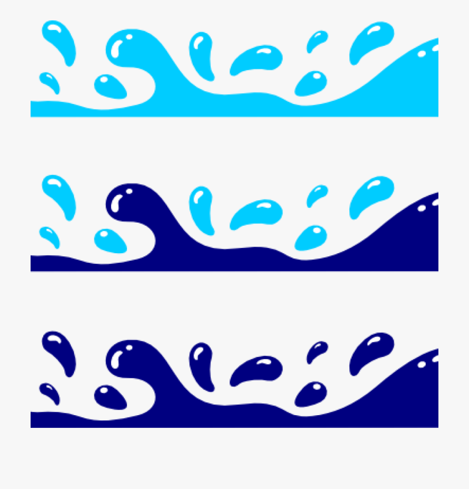 Water Waves Clipart 158447.
