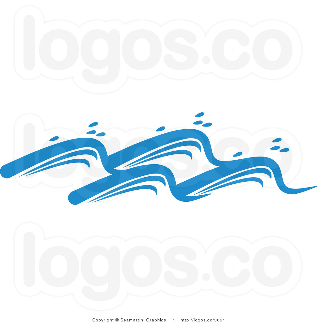 Water Waves Free Clipart.