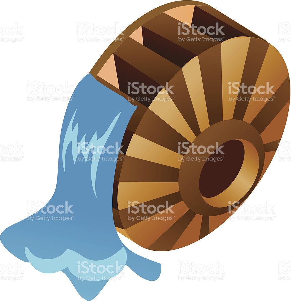 Icon Waterwheel stock vector art 187903261.
