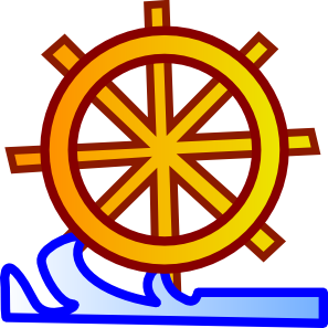 Water wheel clipart.