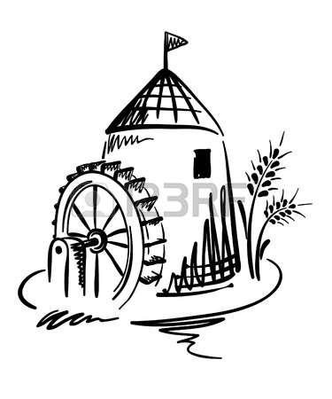 7,031 Water Wheel Stock Vector Illustration And Royalty Free Water.