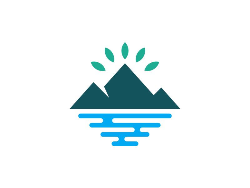 Mountain logo design. by Atha Ruah on Dribbble.