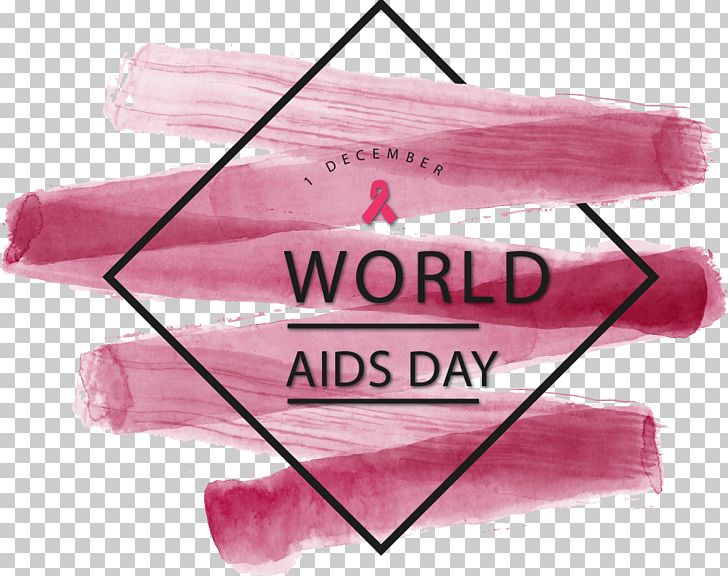 Watercolor Painting World AIDS Day PNG, Clipart, American.