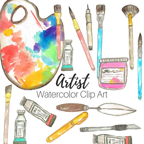 Watercolor Art Supplies at PaintingValley.com.
