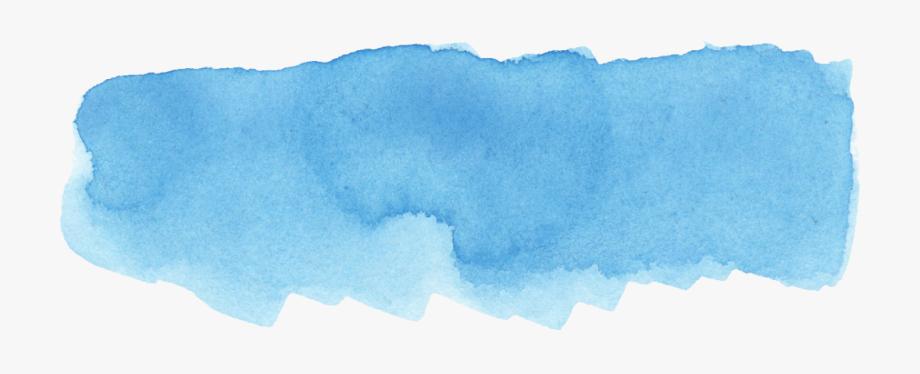 Blue Paint Stroke Png.