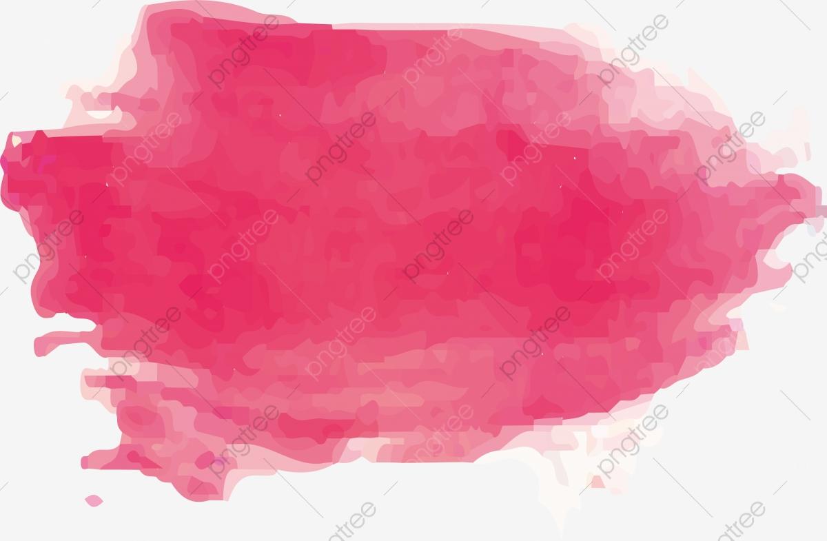 Pink Watercolor Brush, Vector Png, Brush, Watercolor Brushes.