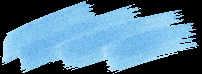44 Blue Watercolor Brush Stroke (PNG Transparent) Vol. 3.