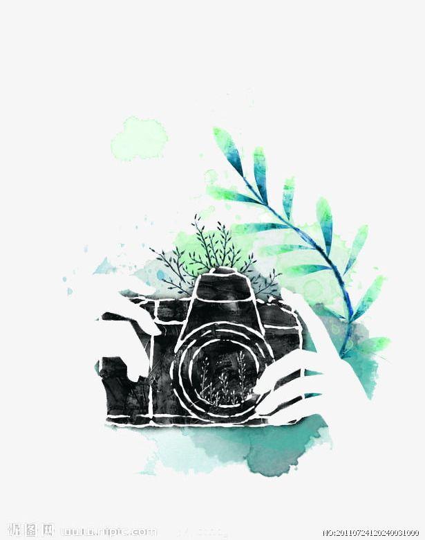 Watercolor Camera PNG, Clipart, Camera, Camera Clipart.