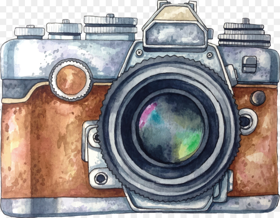 Camera Drawing png download.