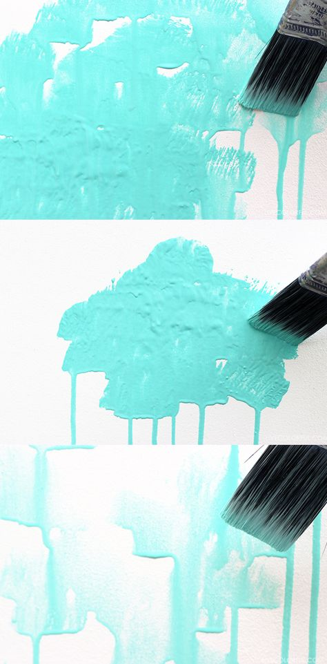 How to Create a Watercolor Effect on Your Walls.