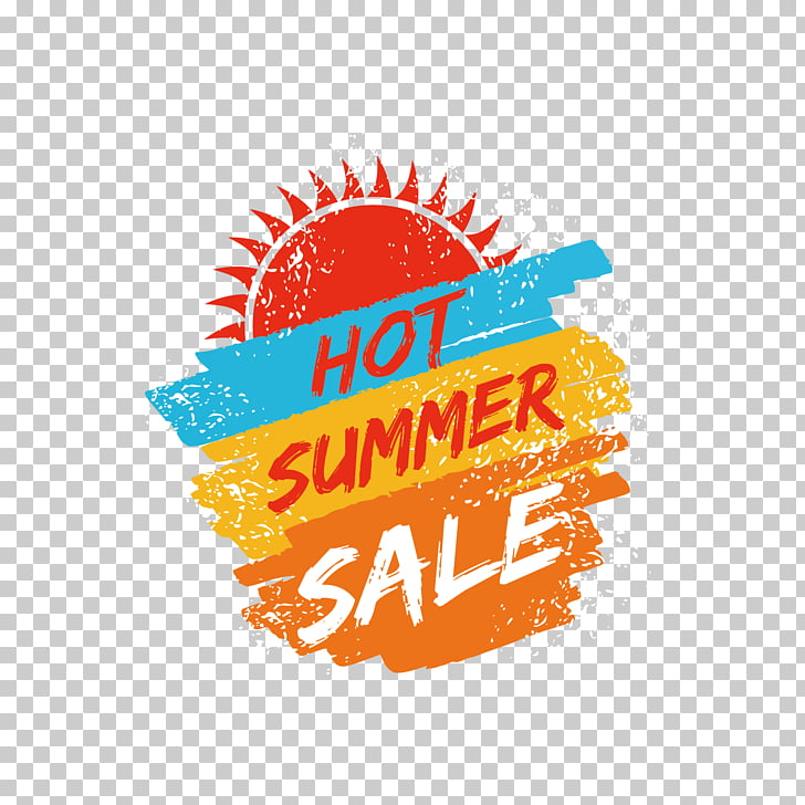 Sales Coupon 4 Leaf Framing Price, watercolor and sun PNG.