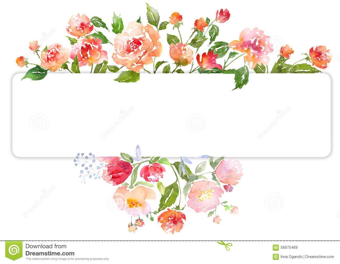 1847 Flower Border free clipart.