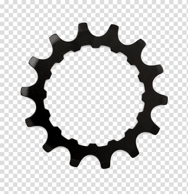Gear Logo Sprocket Freewheel, Bicycle transparent background.