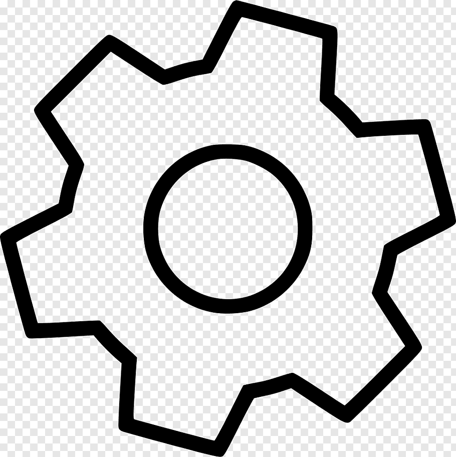 Gear, Sprocket, Drawing, Line, Line Art, Symbol free png.