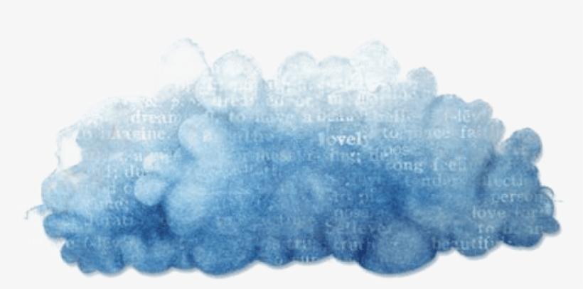 Cloud Painting Clip Art Hand Painted Material.