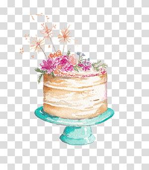 Cupcake Tart Drawing, cake transparent background PNG.