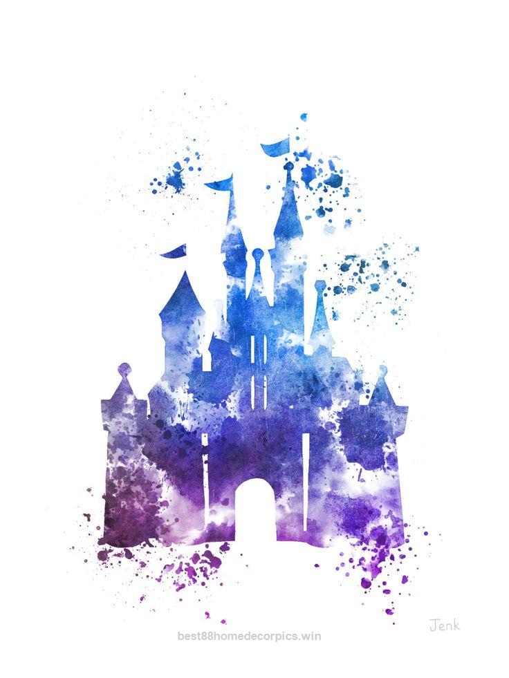 Splendid Cinderella Castle ART PRINT 4th Edition.