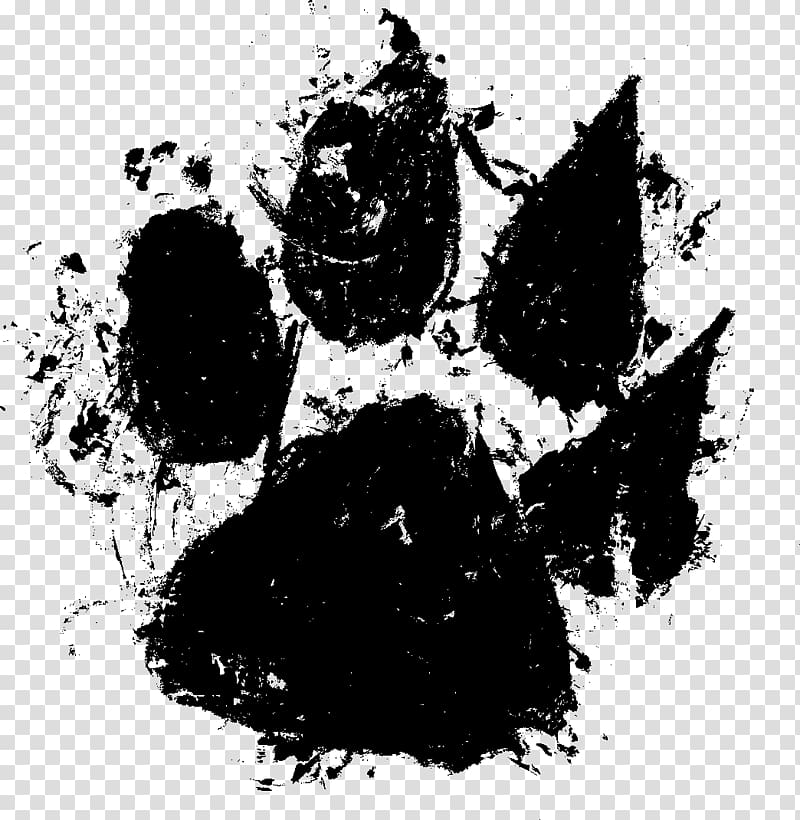Printing Paw Dog, Dog transparent background PNG clipart.