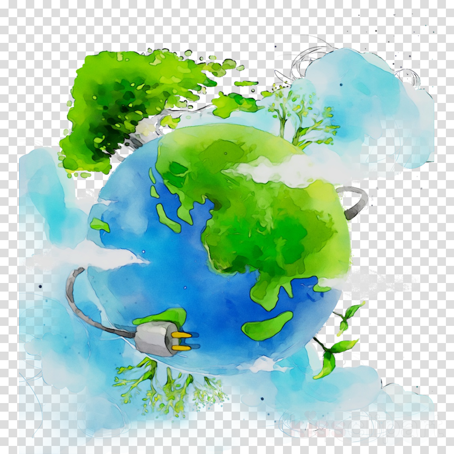 Green Earth clipart.