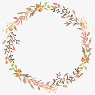 PNG Watercolor Wreath Cliparts & Cartoons Free Download.