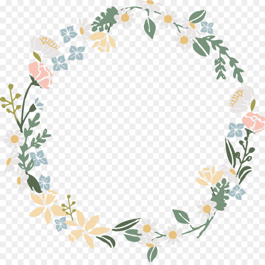 Flower Wreath Png & Free Flower Wreath.png Transparent.