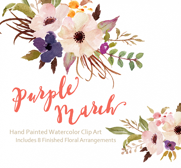 Watercolor Flower Clipart Png.