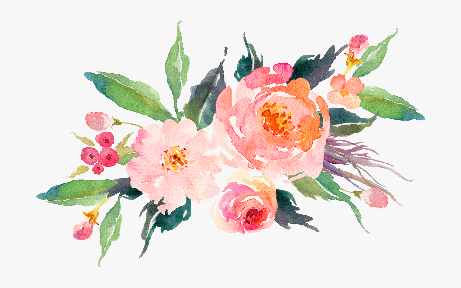 Pink Watercolor Flowers Gifts By Junkydotcom Zippi.