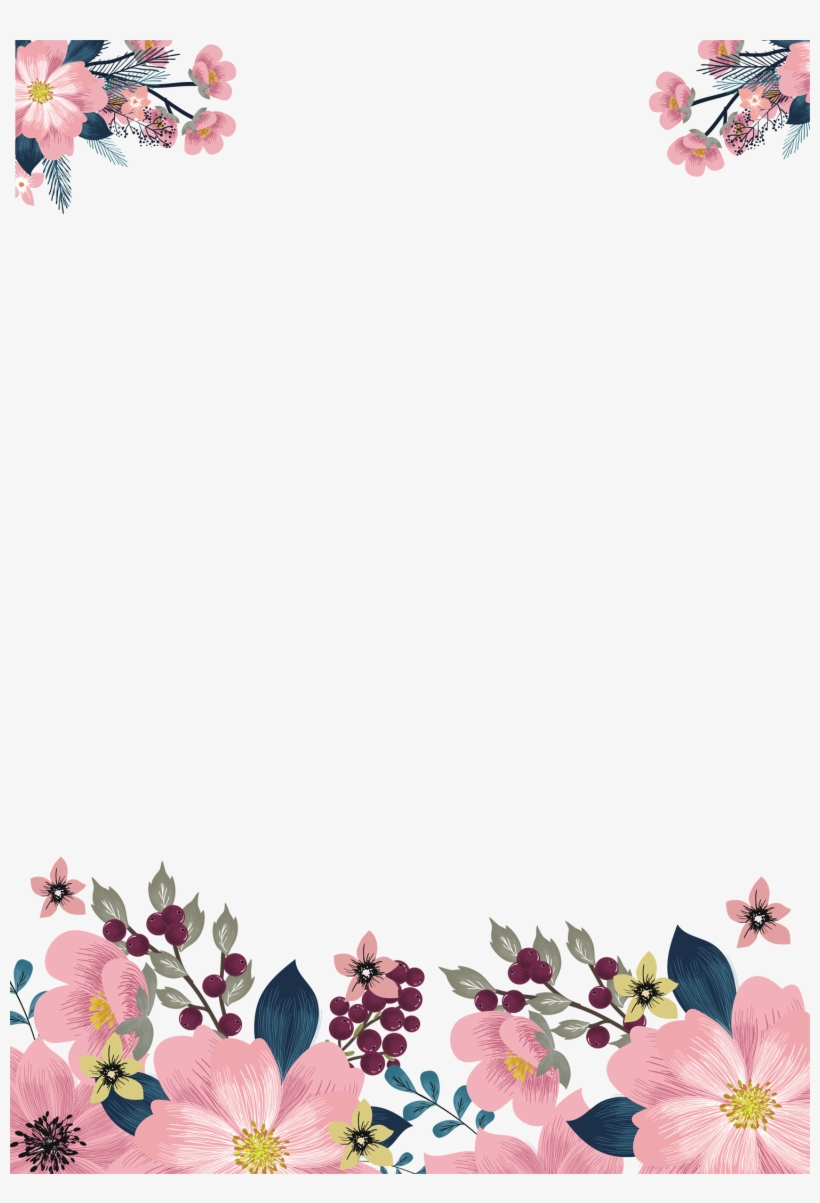 Free Watercolor Flowers Png Download.
