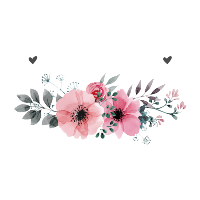 Watercolor Flower Png Free Vector, Clipart, PSD.