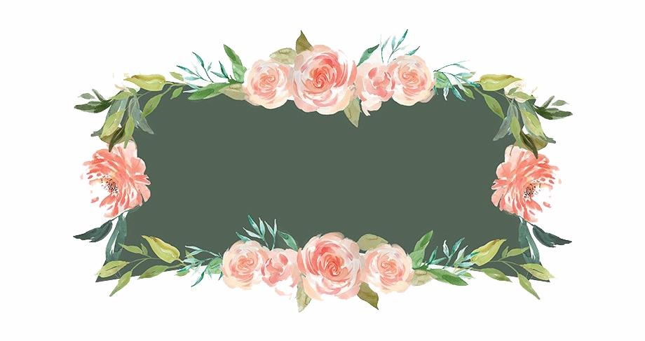 Floral Frames Png.