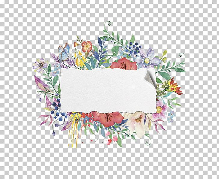 Watercolor Painting PNG, Clipart, Border, Border Frame.
