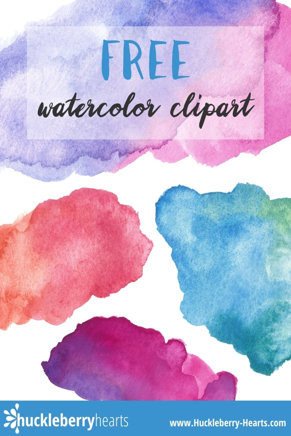 Free Watercolor Clipart Printable.
