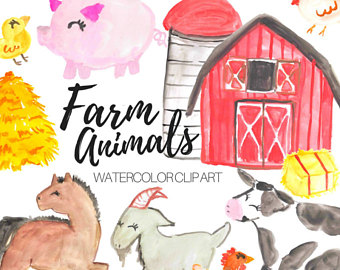 Barn clipart watercolor, Barn watercolor Transparent FREE.