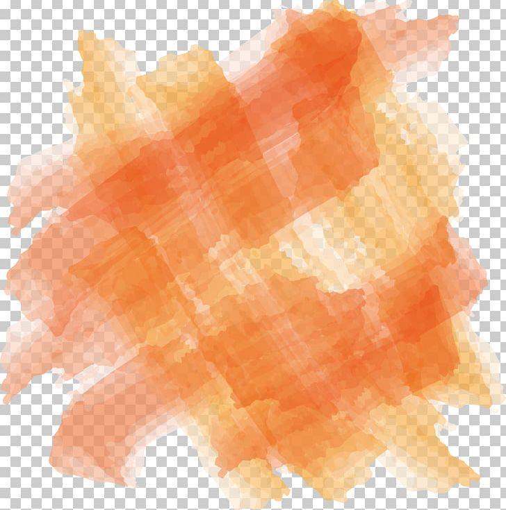Orange Watercolor Painting Paintbrush PNG, Clipart, Artistic.