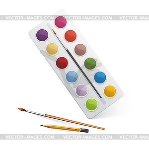 for watercolor paint.