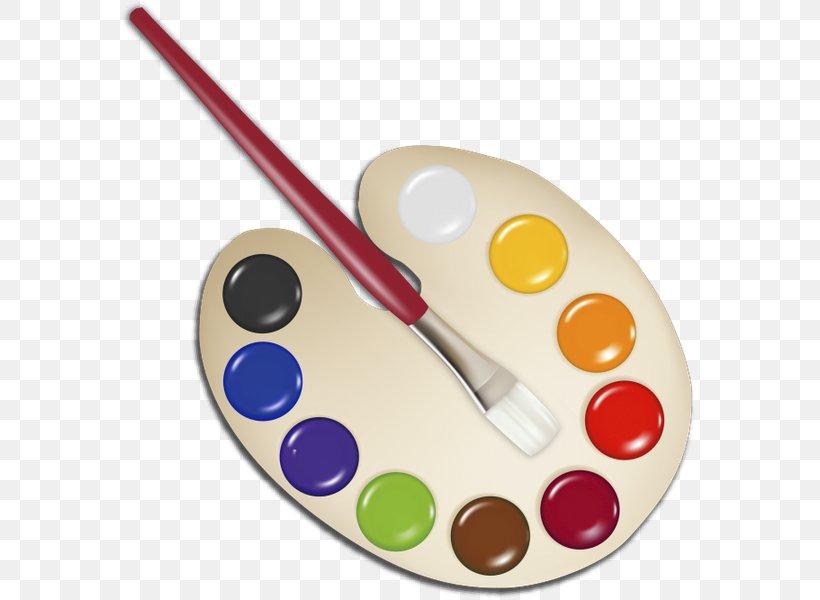 Palette Watercolor Painting Paintbrush Clip Art, PNG.