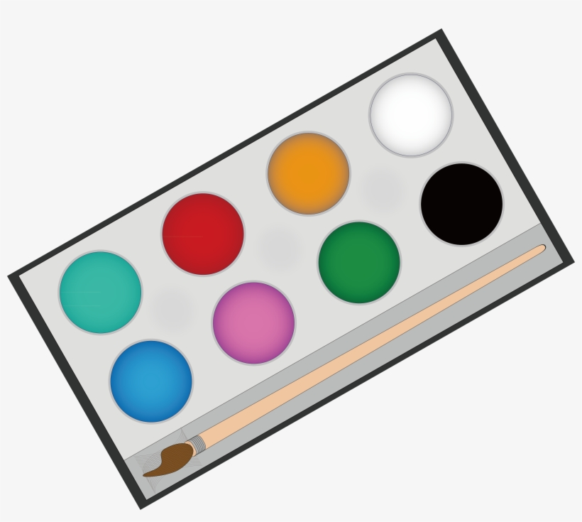 Paintbrush Clipart Painting Material.
