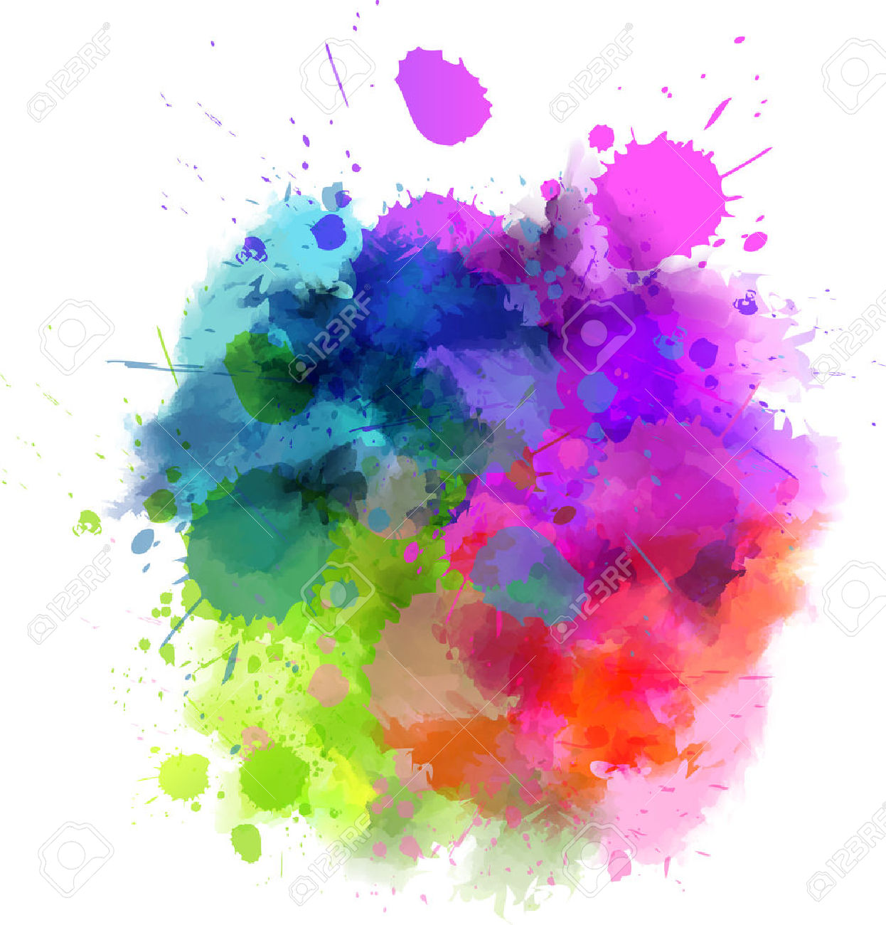 Splatter Frame Stock Vector Illustration And Royalty Free Splatter.