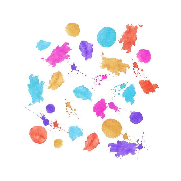 Splatter clip art.